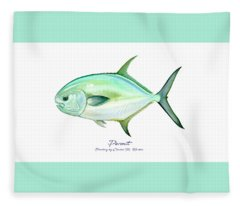 Permit Fleece Blanket