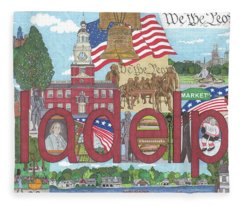 Philadelphia Fleece Blanket