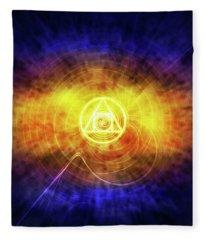 Philosopher's Stone Fleece Blanket