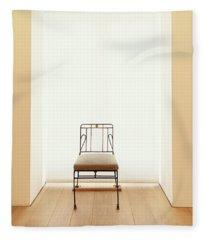 Picasso's Museum Chair Fleece Blanket