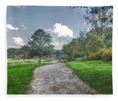 Pickerington Ponds Walkway Fleece Blanket