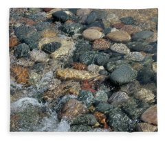 Pier Cove Creek Mini Dam Fleece Blanket