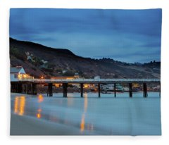 Pier House Malibu Fleece Blanket