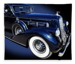 Pierce Arrow Model 1603 Limousine Fleece Blanket