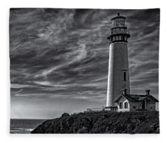 Pigeon Point Light Station Fleece Blanket
