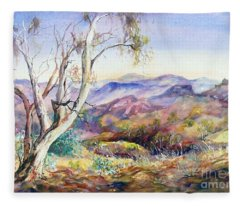 Pilbara, Hamersley Range, Western Australia. Fleece Blanket