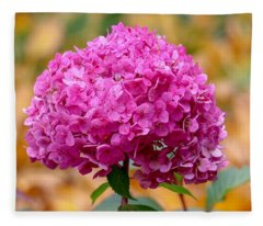 Pink Bouquet  Fleece Blanket