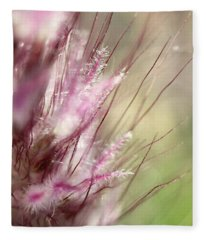 Pink Cotton Candy Fleece Blanket