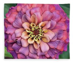 Pink Summer  Fleece Blanket