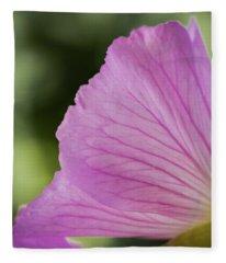 Pink Vains Fleece Blanket
