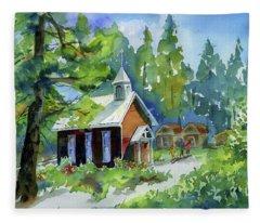 Pioneer Union Church Fleece Blanket