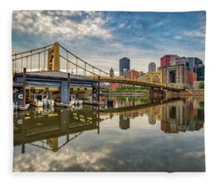 Pittsburgh River Rescue  Fleece Blanket