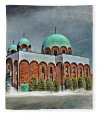 Place Of Worship Fleece Blanket