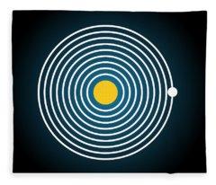 Planet 9 Fleece Blanket