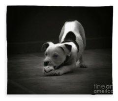 Play Ball Fleece Blanket