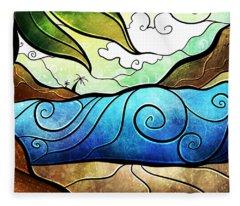 Playa Paraiso Fleece Blanket