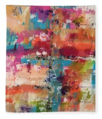 Playful Colors Fleece Blanket