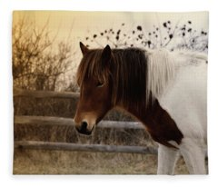 Pony Warm Up Fleece Blanket