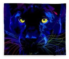 pOpCat Black Panther Fleece Blanket