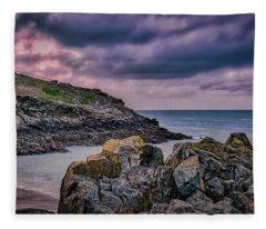 Porthgwidden Dramatic Sky Fleece Blanket