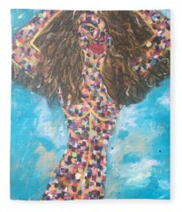Pose Fleece Blanket