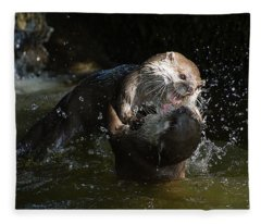 Power Struggle Fleece Blanket