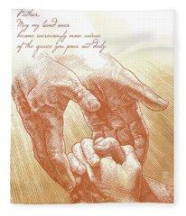Prayer Fleece Blanket