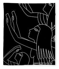 Prayer To The Gods Fleece Blanket