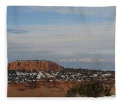 Pride Mountain Fleece Blanket
