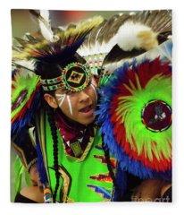 Pride Of Indigenous Culture 11 Fleece Blanket