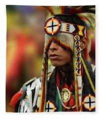 Pride Of Indigenous Culture 12 Fleece Blanket