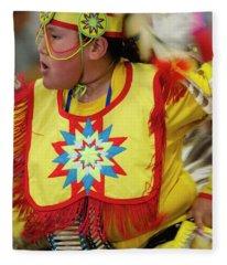 Pride Of Indigenous Culture 14 Fleece Blanket