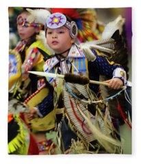 Pride Of Indigenous Culture 15 Fleece Blanket