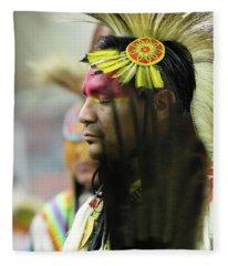 Pride Of Indigenous Culture 16 Fleece Blanket