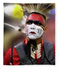 Pride Of Indigenous Culture 2 Fleece Blanket