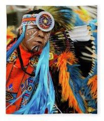 Pride Of Indigenous Culture 3 Fleece Blanket