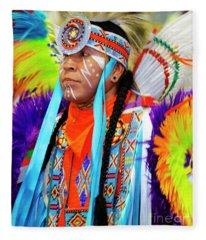 Pride Of Indigenous Culture 4 Fleece Blanket