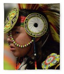 Pride Of Indigenous Culture 7 Fleece Blanket