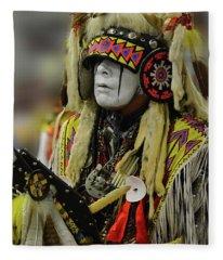 Pride Of Indigenous Culture 8 Fleece Blanket