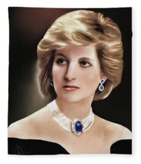 Princess Diana Fleece Blanket
