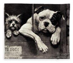 Prisoners At The Bar Fleece Blanket