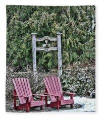 Prop Chairs Fleece Blanket