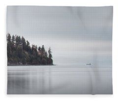 Brockton Point, Vancouver Bc Fleece Blanket