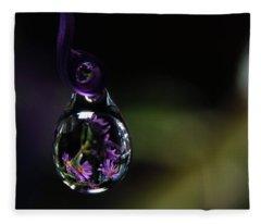 Purple Dreams Fleece Blanket