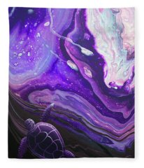 Purple Munchkin Fleece Blanket