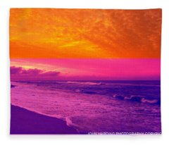Pyrotechnics Fleece Blanket