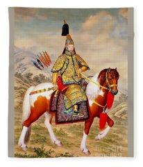 Qianlong Emperor China Fleece Blanket