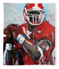 Quarterback Fleece Blanket