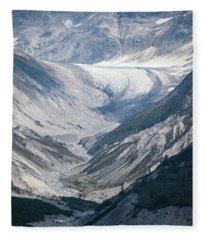 Queen Inlet Glacier Fleece Blanket