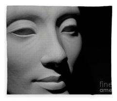 Queen Nefertiti Fleece Blanket